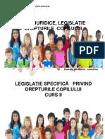 Master Educaţie Timpurie Legislaţie Specifică Curs II