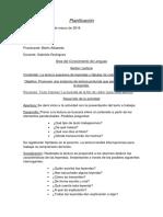 planificación didáctica para 3er año primaria. Contenido