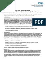 NWAngliaFT - Urine Microscopy Interpretation
