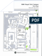 RP Site Map Reception& Tram Stops Highlighted