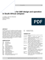 Design Considerations of Unmanned Aerial Vehicle