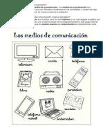 Cuáles Son Los Medios de Comunicación
