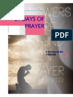 21 Days Prayer