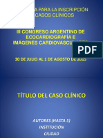 Plantilla Casos Clinicos Congreso Eco 2015