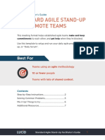 Agile Standup Facilitators Guide