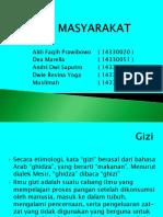 PPT Gizi