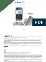 Ro Manual de Utilizare Nokia e71