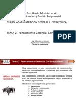 Microsoft PowerPoint - BASE MAESTRIA Administración General y Estrategica 2017 Arequipa 2 Tema 2
