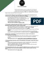 BAM 2.0 List of Demands