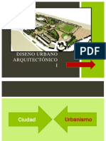 Diseño Urbano Arquitectónico I