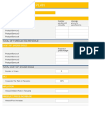 Financial Projection Template1