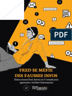 Fred se méfie des fausses infos, une bande dessinée pour apprendre à vérifier l'information