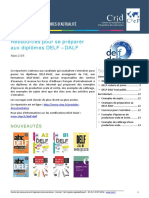 Ressources de Preparation Aux Certifications Delf Dalf