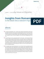 Cercteare Migratia Romanilor 2017