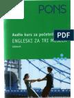 ENGLESKI Za 3 Meseca - Udzbenik