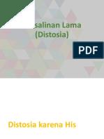 Persalinan Lama (Distosia)