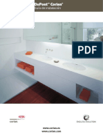 Corian® Installation Booklet Spanish