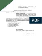 Devolución de Documentos y Anexos