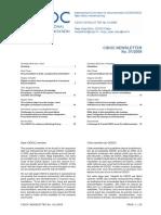 CIDOC - Newsletter (01 - 2009)