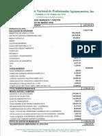 Informe Financiero ANPA, Marzo 2018