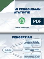 Kuliah Biostatistik 1 Pengertian Statistik (Dr. Joedo)