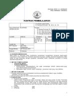 Kontrak Perkuliahan Akuntansi Keperilakuan 2018