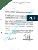 Reglamento examen de grado carrera economía UMSA