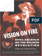 Vision on Fire Emma Goldman on the Spanish Revolution