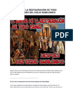 EL ERROR DE LA RESTAURACIÓN DE TODO ISRAEL DESPUÉS DEL EXILIO BABILÓNICO.docx