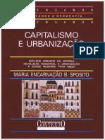 SPOSITO, Maria Da Encarnação B. Capitalismo e Urbanização