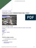 Lista_ Terminales Terrestres Del Perú