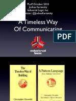 atimelesswayofcommunicating-101019220548-phpapp01