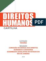 Cartilha sobre a Comissão de Direitos Humanos da Alerj