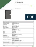 Altivar 61 Variable Frequency Drives VFD_ATV61HC40N4D