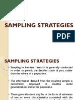 Sampling & Sampling Distributions
