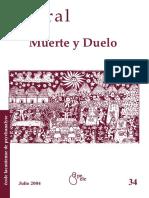 Revista - Litoral 34 - Muerte Y Duelo
