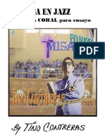 Misa en Jazz - Partitura Coral