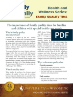 f2f Family Quality Time 10-13