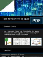3.3 Tipos de Tratamiento de Aguas Residuales