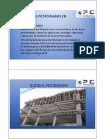 Uso de Losas Postensadas en Edificios