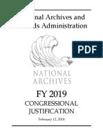FY 2019 Budget