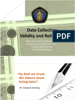 Data collection, reliability and validity metpen 2017.ppt