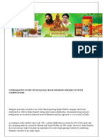 Comparative Study of Patanjali With Competitors