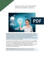 Ruptura en La Continuidad de Los Procesos de Información Contable y Financiera