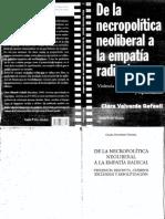 Valverde, Clara - De la necropolítica liberal a la empatía radical.pdf