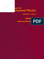 (Methods of Experimental Physics 24) Charles G. Sammis and Thomas L. Henyey (Eds.)-Geophysics-Academic Press (1987)