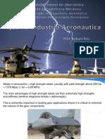 Aços Na Indústria Aeronáutica