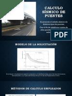 Diseño Sismico Puente