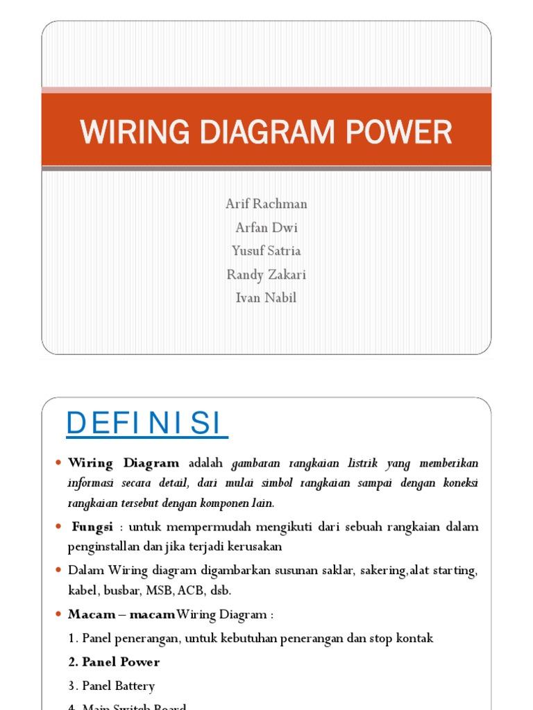 Wiring Power