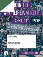 #ProLifeWalkout flyer 2